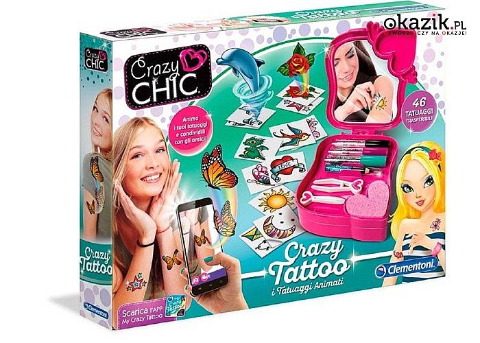 Super zestawy dla dziewczynek!! Do wyboru piękna biżuteria oraz kolorowe tatuaże!