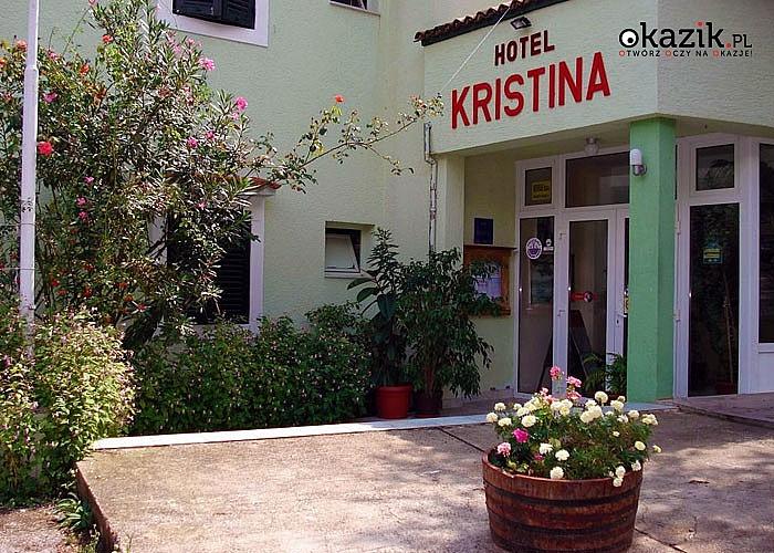 Letnie wczasy w popularnym kurorcie Vodice! Zakwaterowanie w hotelu Kristina** z HB + bezpłatny pobyt dla dziecka!