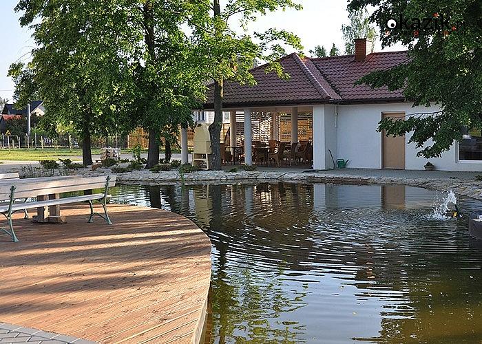 Rodzinne pobyty w Pensjonacie Villa Forsycje nad Zalewem Domaniowskim! 5- lub 7-dobowy pobyt! Wyżywienie! Atrakcje! SPA!
