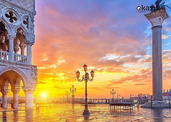 Wycieczka do Włoch - Wenecja, Asyż, Rzym! 3-noclegi w hotelu***! Śniadania i obiadokolacje! Opieka pilota! Autokar!
