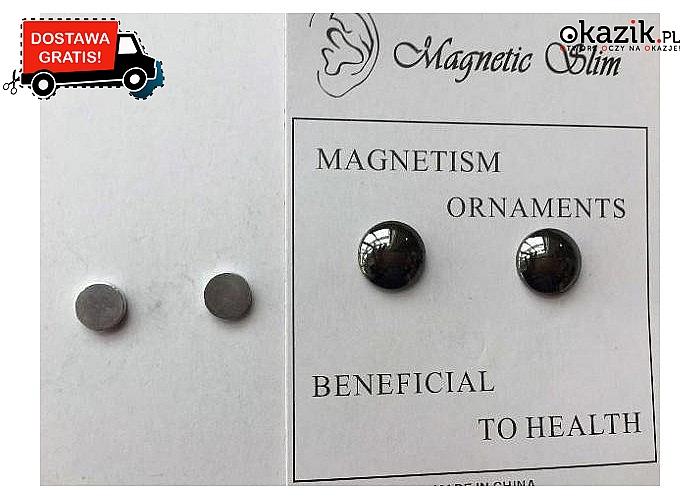 Kolczyki magnetyczne wspomagające odchudzanie!