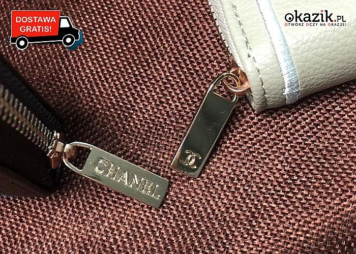 Absolutny HIT! Portfel Chanel! 5 kolorów! Modna i elegancka propozycja dla każdej kobiety!