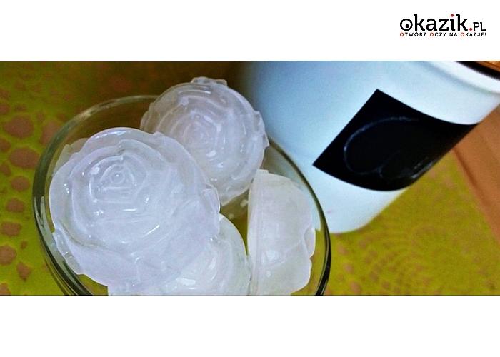 Forma silikonowa do kostek lodu w kształcie różyczek (9,99zł)