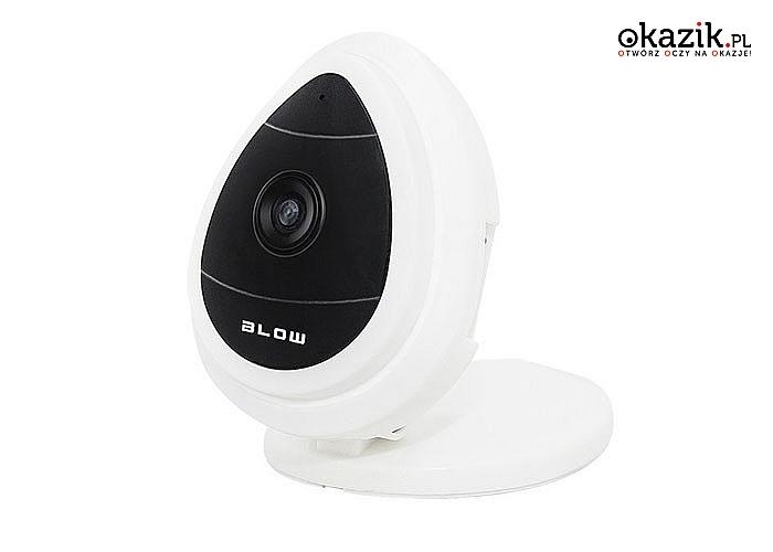 Czuwaj nad bliskim cały czas. Kamera IP pozwoli Ci w dowolnym momencie monitorować wybrane miejsce np. pokój dziecięcy