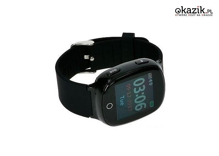 Smartwatch Garett GPS 3! Nowoczesny lokalizator z kartą sim i przyciskiem SOS! Doskonały dla osób starszych lub dzieci!