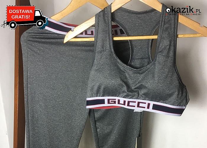 Komplet sportowy Gucci! DARMOWA przesyłka! Najwyższa jakość wykonania!