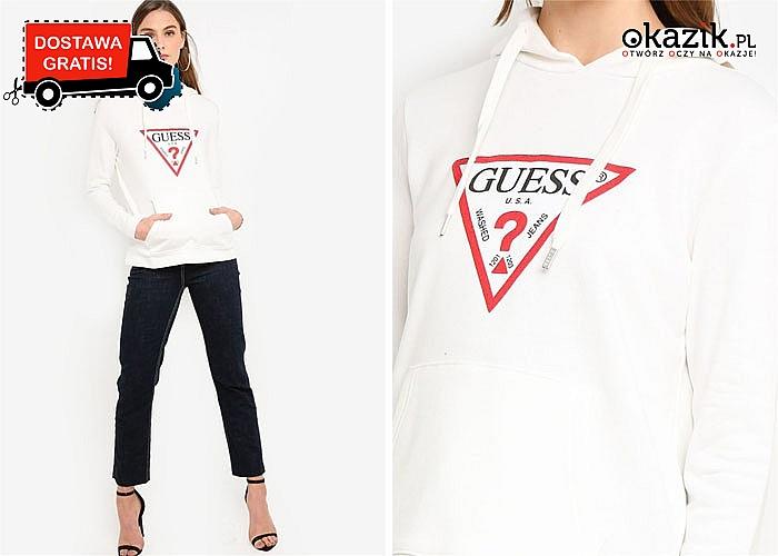 HIT! Bluza damska Guess! DARMOWA przesyłka! Najwyższa jakość wykonania!
