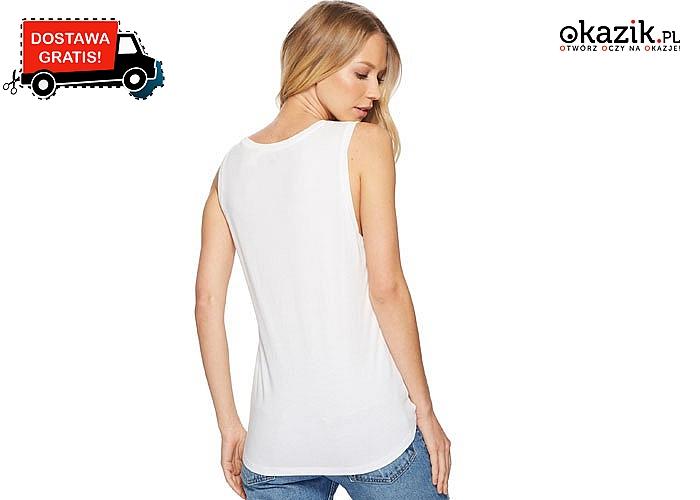 Damska koszulka marki Levi's. Koszulka bez rękawów,