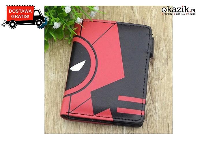 Superbohaterski portfel! Dla każdego miłośnika bajkowych lub komiksowych postaci! Szeroki wybór! Doskonała jakość!
