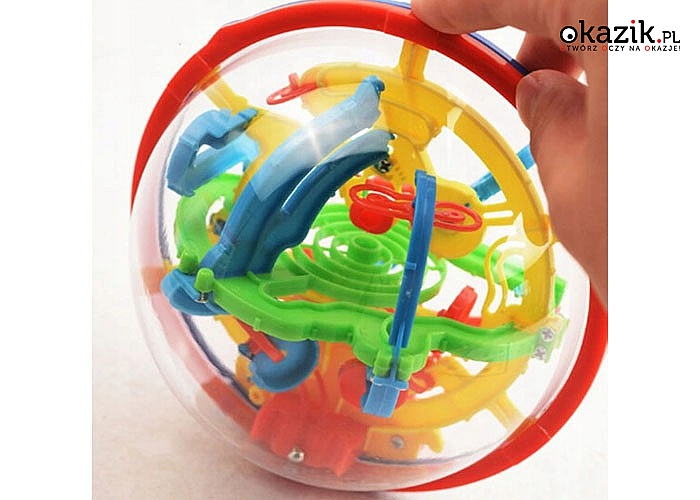 Kula Labirynt 3D doskonałą zabawka łamigłówka nie tylko dla dzieci !!!