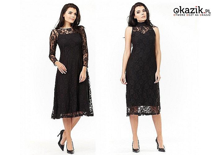 Elegancka sukienka damska! Najwyższa jakość wykonania! Modny fason!