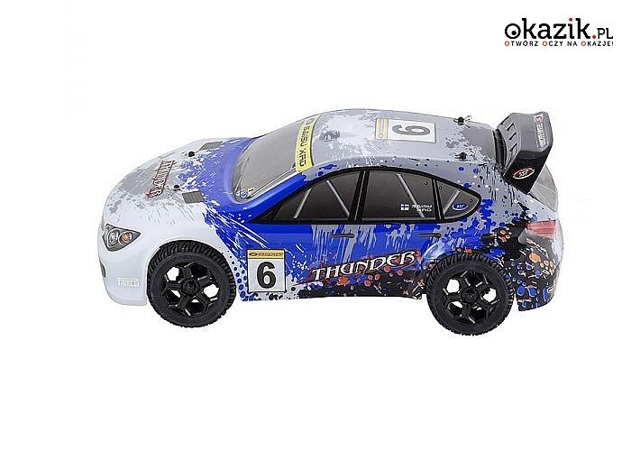 Auto elektryczne RALLY RTR 1:10 Off-Road – SST! Doskonała konstrukcja! 2 kolory! Doskonały na prezent!