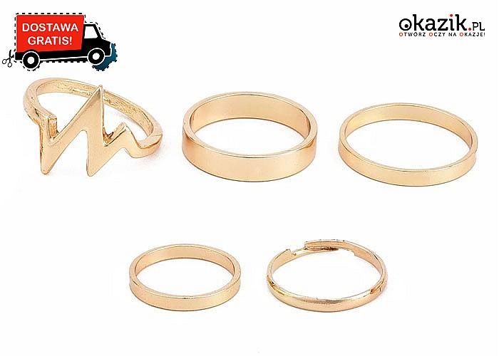 Świetna oferta! Piękne pierścionki, które są dopełnieniem każdego stroju.