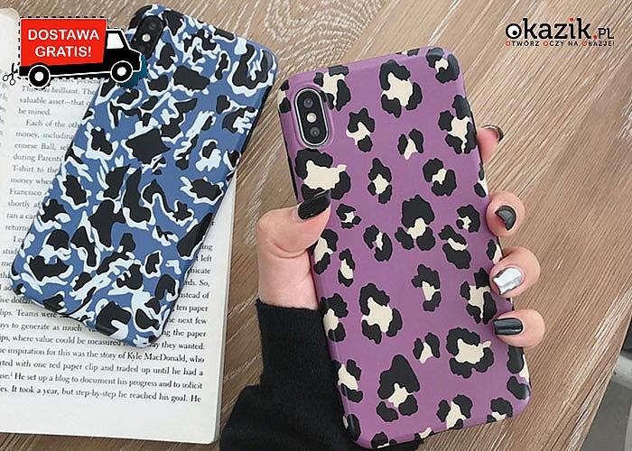 Etui do iPhone w zwierzęcym stylu! Najwyższa jakość! Sprawi, że telefon będzie wyglądał bardzo wytwornie i stylowo!