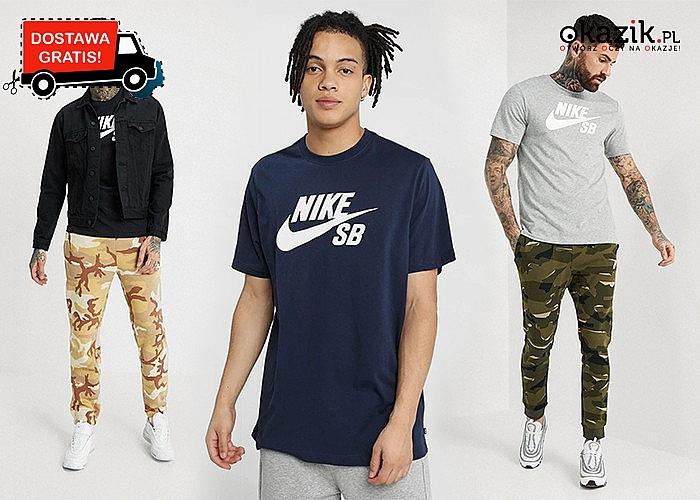 Absolutny HIT! Bluzka z krótkim rękawem Nike dla mężczyzn! Najwyższa jakość!