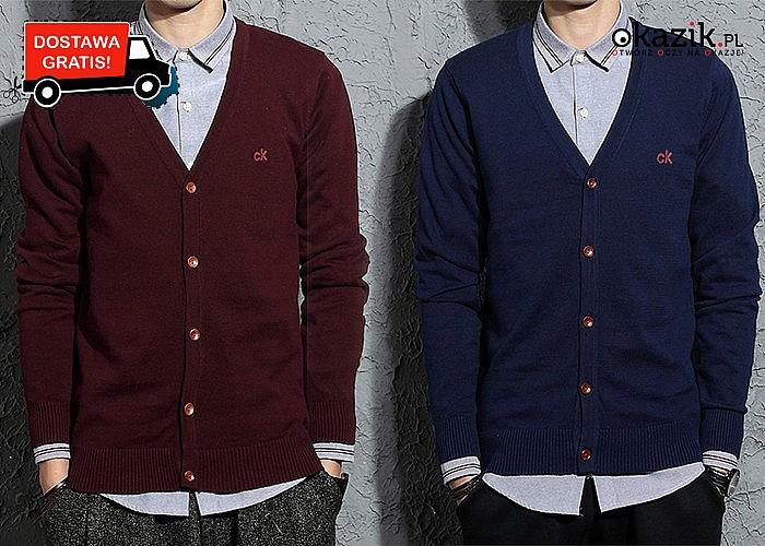 Ekstra stylowy sweter Calvin Klein! Doskonała jakość! Doskonale dopasowuje się do każdej sylwetki!