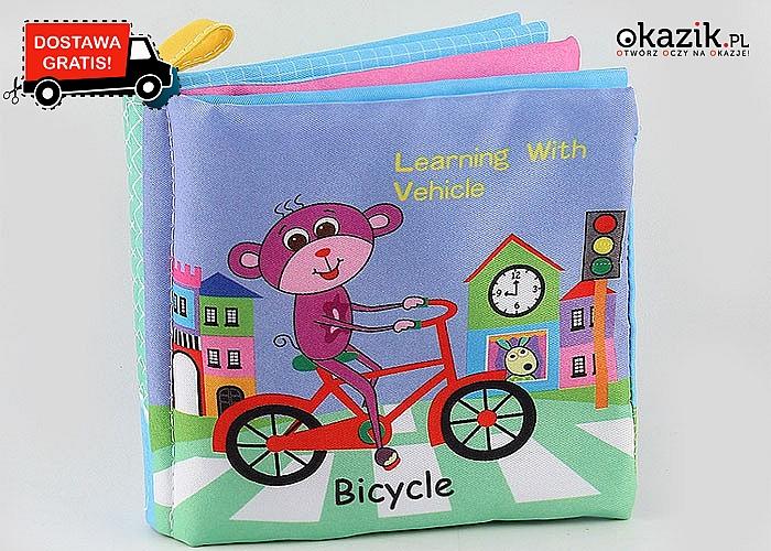 Wspaniała, miękka książeczka! Edukacja od niemowlaka!
