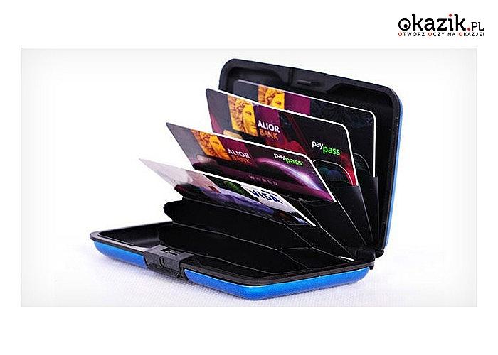 Alluma Wallet! Wykonany z wysokiej jakości plastiku! Portfel jest elegancki i stylowy! Wygodny i praktyczny!