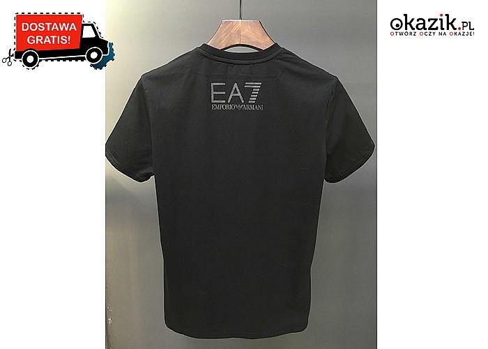 HOT TRNEDY!! T-shirt męski Emporio Armani EA7!!