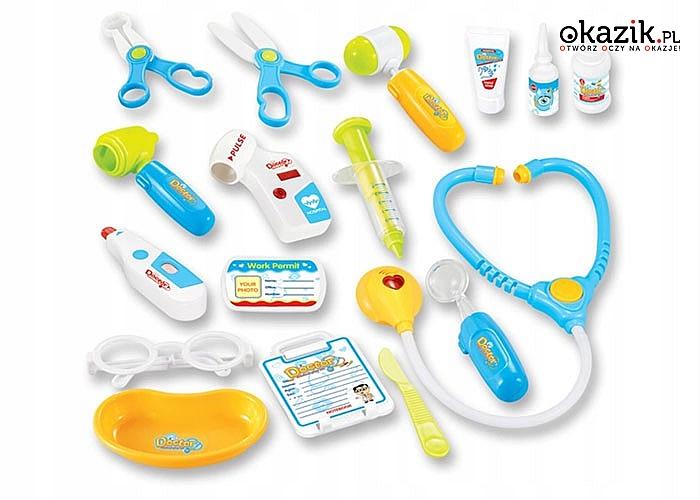 Dzięki naszej zabawce, wizyta u lekarza będzie dla dziecka mniej stresująca!