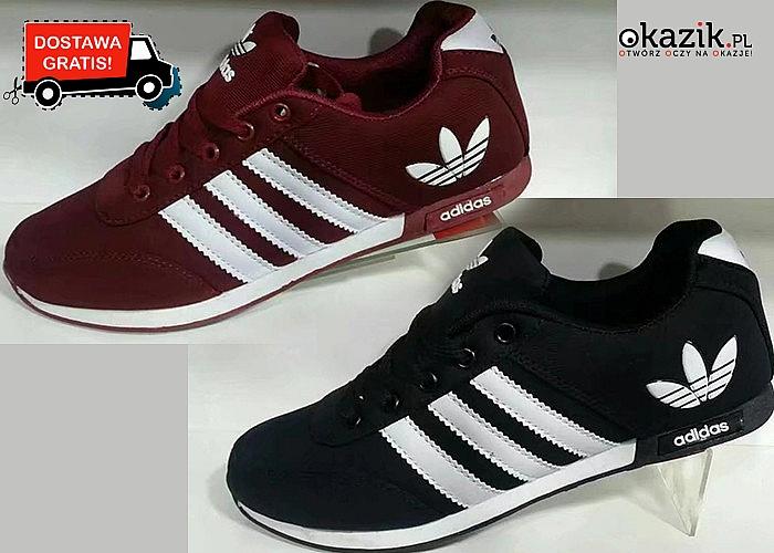 Oryginalne buty Adidas! Dopełnij swój sportowy look!