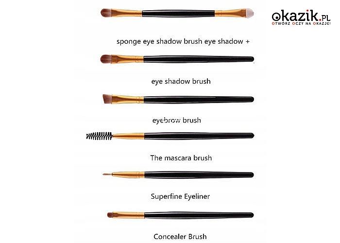 Zadbaj o profesjonalny make-up! Pędzle do makijażu! Aż 20 sztuk w zestawie!