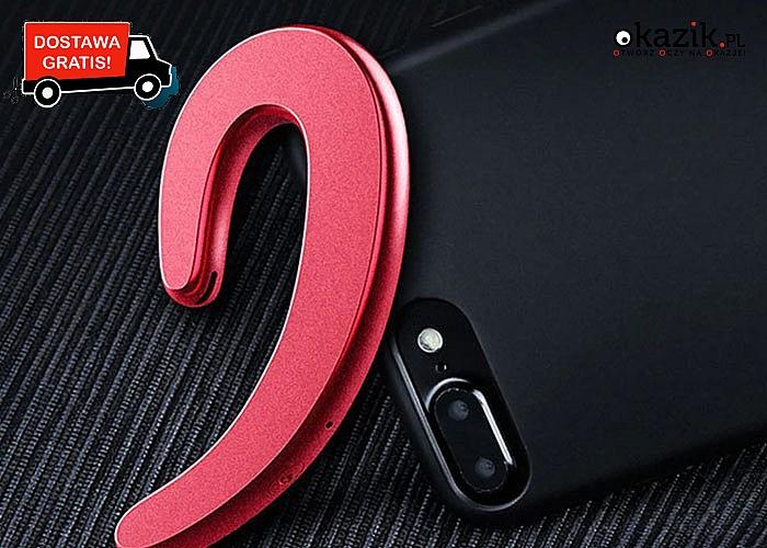Piękna słuchawka bezprzewodowa zapewni Ci nieprzerwaną łączność z telefonem komórkowym.