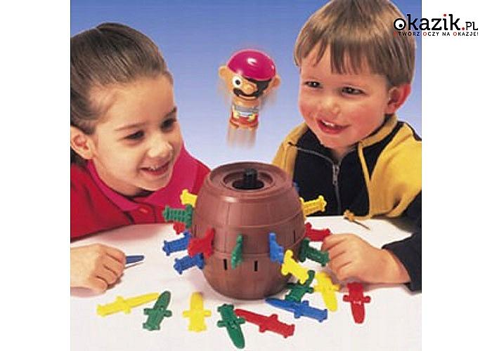 Szalony pirat! Gra zręcznościowa! Fantastyczna zabawa dla całej rodziny!