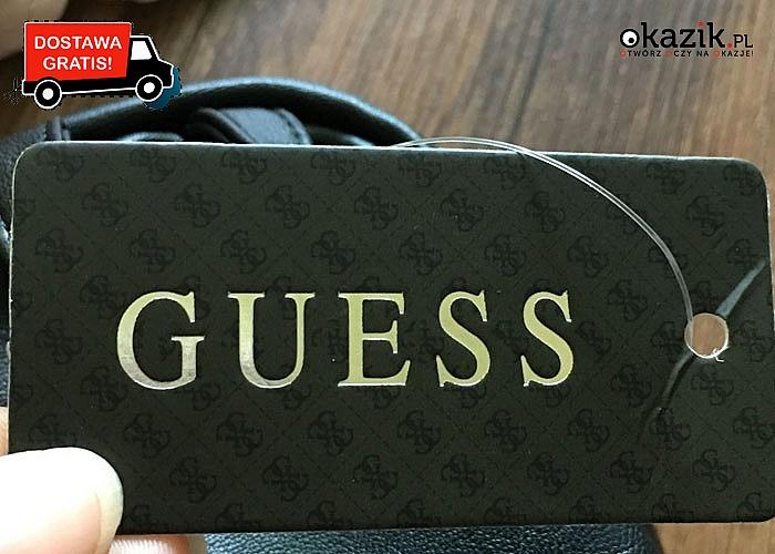 Nowość! Mała, pikowana torebka Guess! Dwa kolory! Doskonała jakość!