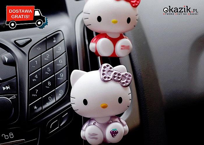 Kotek odświeży Twój samochód i nada mu piękny zapach!