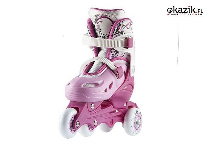 Rolki – Wrotki 2w1! Nils Extreme! Stworzone dla najmłodszych pasjonatów jazdy!