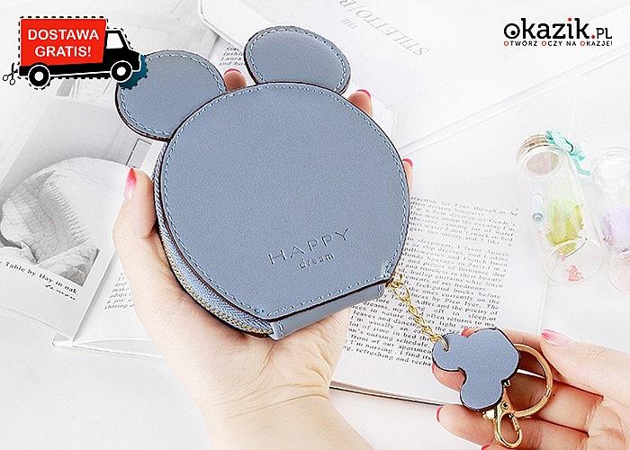 Wyróżnij się w tłumie, dzięki naszej niezwykłej portmonetce z uroczymi uszami myszki!