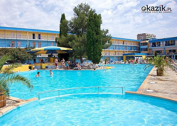 Słoneczny Brzeg w Bułgarii! Hotel Azurro! Wypocznij w blasku słońca na riwierze Bułgarskiej!