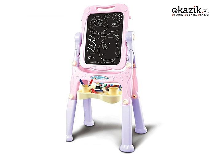 Tablica kredowo-magnetyczna pomoże rozwinąć kreatywność każdego dziecka