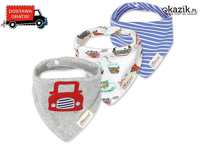 Nasze bandany sprawią, że Twoje dziecko będzie modne i czyste! Funkcjonalny dodatek!