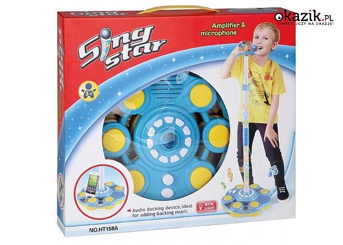 Twoje dziecko poczuje się jak prawdziwa gwiazda! Świetna muzyczna zabawa!