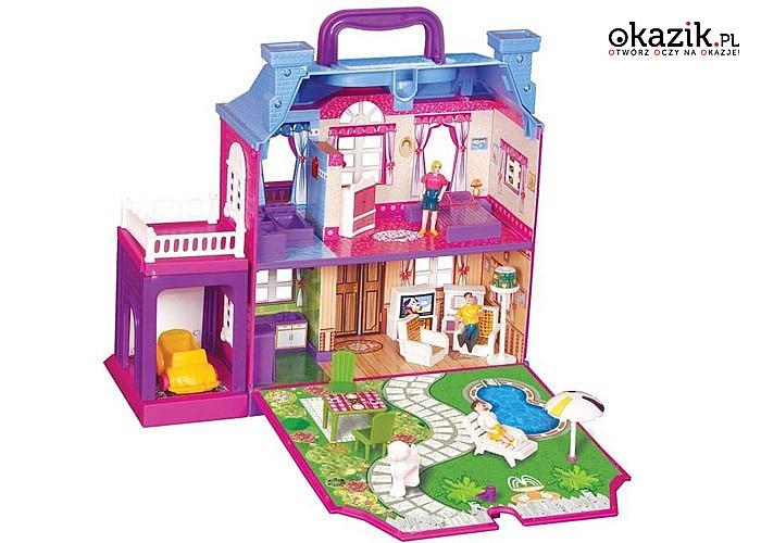 Radosny domek, dzięki któremu zabawa nie będzie nudna!