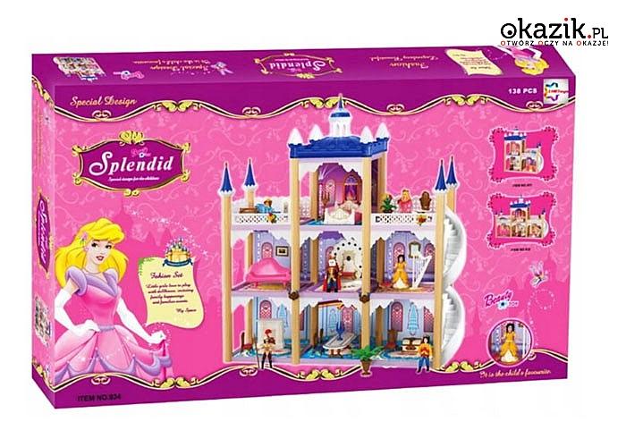Pałac wzbudza zachwyt u każdej dziewczynki!