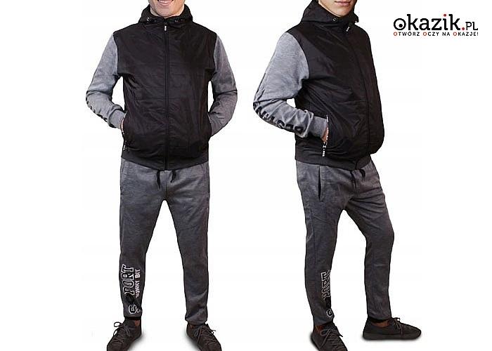 Dres męski 2 częściowy! City Style!Nie tylko dla aktywnych mężczyzn, ale także idealny na co dzień!