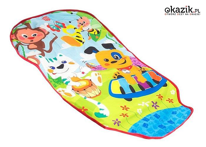 Mata edukacyjna dla dzieci z pianinkiem! Doskonała zabawa dla Twojego malucha!