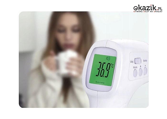 Termometr medyczny, bezdotykowy dla dzieci Medivon! Model TB-08!