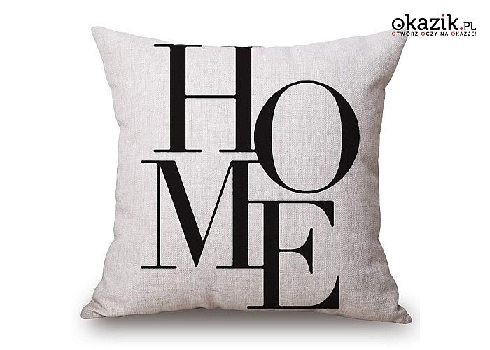 Poduszka bawełniana 40x40 cm stylowa dekoracja sypialni