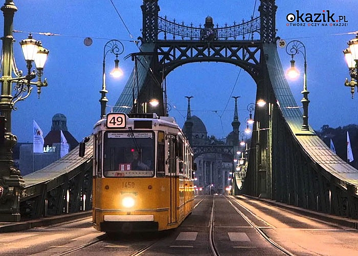 Budapeszt, miasto dziesięciu wzgórz! 3-dniowa wycieczka! 2 noclegi w hotelu*** + śniadania!