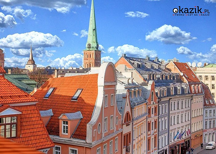 Ryga, Sztokholm, Turku, Helsinki i Talin! 6-dniowa wycieczka promem! 3 śniadania! Opieka pilota! Autokar!