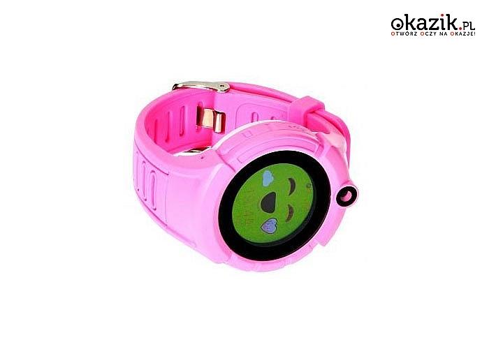 Twojej dziecko zawsze pod kontrolą .Smartwatch Garett Kids 5 to nowoczesny lokalizator GPS z kartą sim i przyciskiem SOS