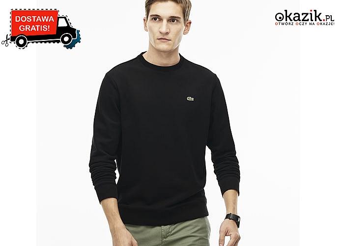 Nowość stworzona dla każdego mężczyzny! Bluza męska Lacoste! Doskonała jakość wykonania! Stylowa i komfortowa! 4 kolory!