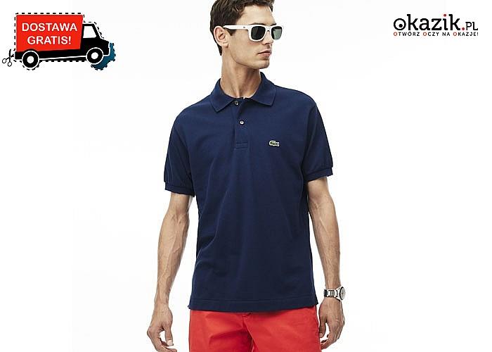 Modna propozycja dla każdego mężczyzny! Koszulka męska Polo Lacoste! Doskonała jakość wykonania! Komfortowa!