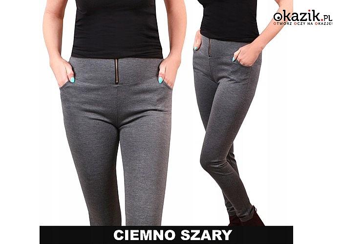 Spodnie damskie Jesień/Zima! Doskonale modelują sylwetkę! Doskonałe zarówno na elegancko jak i sportowo! 3 kolory!