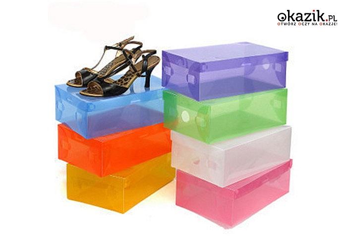 Uporządkuj swoje obuwie! Solidne, składane pudełka na buty.