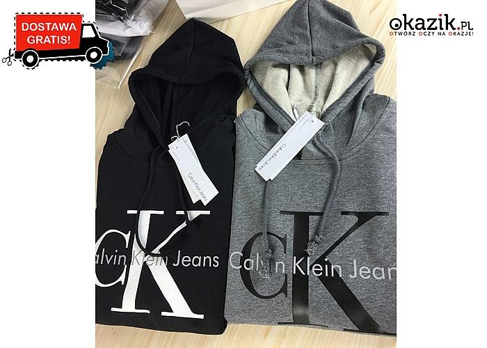 Logo znane na całym świecie! Bluza damska Calvin Klein! 2 kolory! Doskonała jakość!